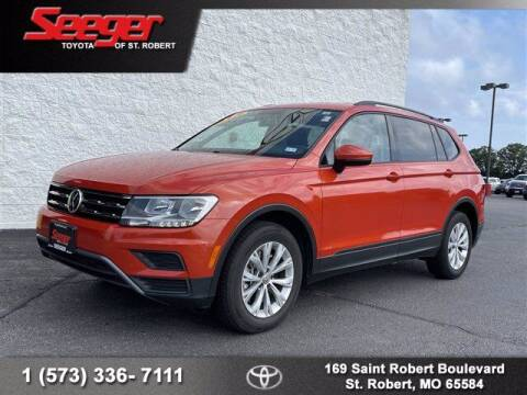 2019 Volkswagen Tiguan for sale at SEEGER TOYOTA OF ST ROBERT in Saint Robert MO