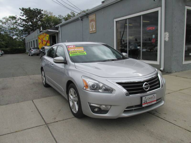 2015 Nissan Altima for sale at Omega Auto & Truck Center, Inc. in Salem MA