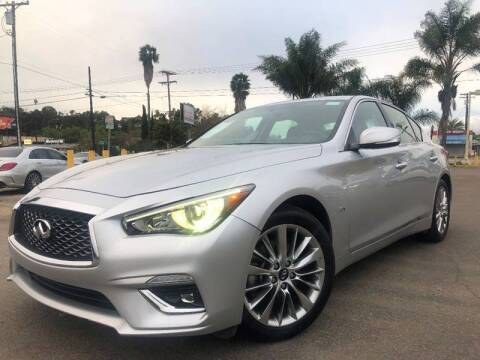 2019 Infiniti Q50 for sale at Imports Auto Outlet in Spring Valley CA