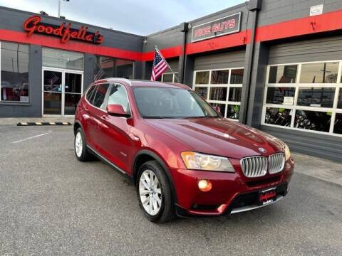 2014 BMW X3 for sale at Goodfella's  Motor Company in Tacoma WA