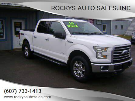 2016 Ford F-150 for sale at Rockys Auto Sales, Inc in Elmira NY