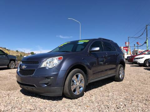 2013 Chevrolet Equinox for sale at 1st Quality Motors LLC in Gallup NM