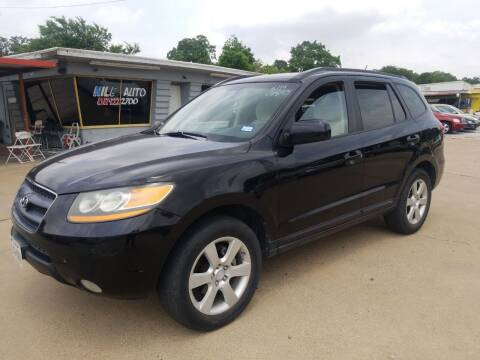 2008 Hyundai Santa Fe for sale at Nile Auto in Fort Worth TX