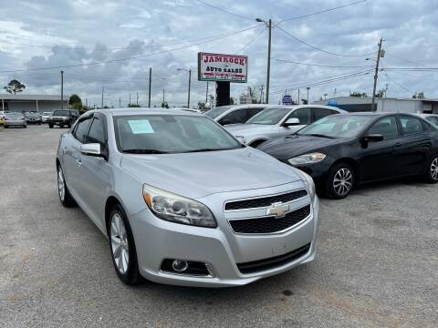 2013 Chevrolet Malibu for sale at Jamrock Auto Sales of Panama City in Panama City FL