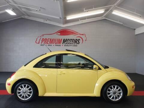 2004 Volkswagen New Beetle for sale at Premium Motors in Villa Park IL