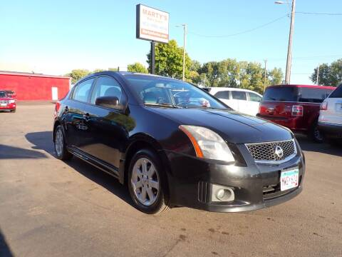 2012 Nissan Sentra for sale at Marty's Auto Sales in Savage MN