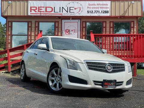 2014 Cadillac ATS for sale at REDLINE AUTO SALES LLC in Cedar Creek TX