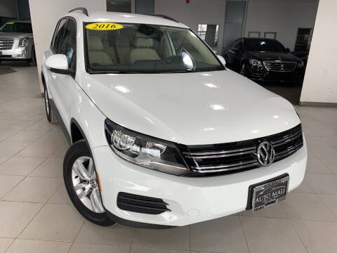 2016 Volkswagen Tiguan for sale at Auto Mall of Springfield in Springfield IL