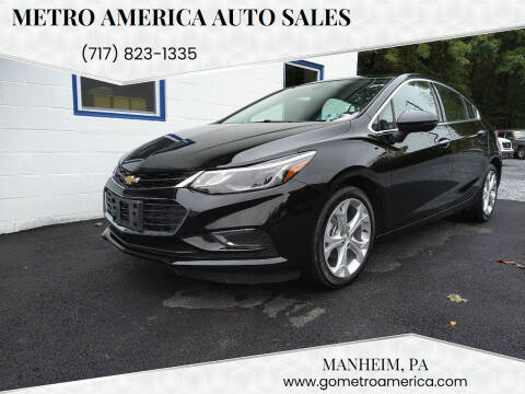 2017 Chevrolet Cruze for sale at METRO AMERICA AUTO SALES of Manheim in Manheim PA