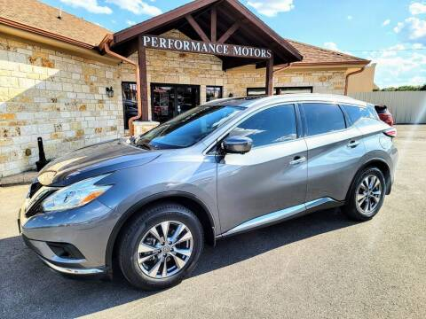 2017 Nissan Murano for sale at Performance Motors Killeen Second Chance in Killeen TX
