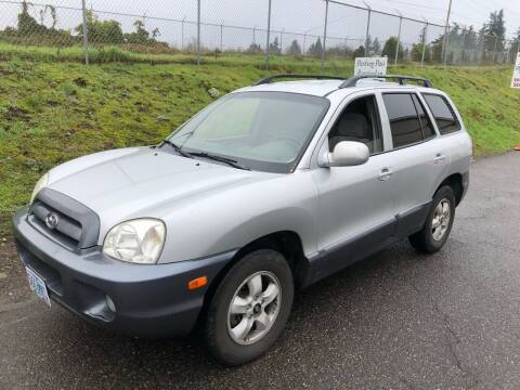 2005 Hyundai Santa Fe for sale at Blue Line Auto Group in Portland OR