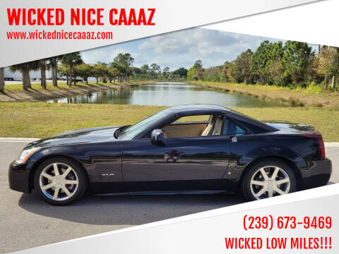 2007 Cadillac XLR for sale at WICKED NICE CAAAZ in Cape Coral FL