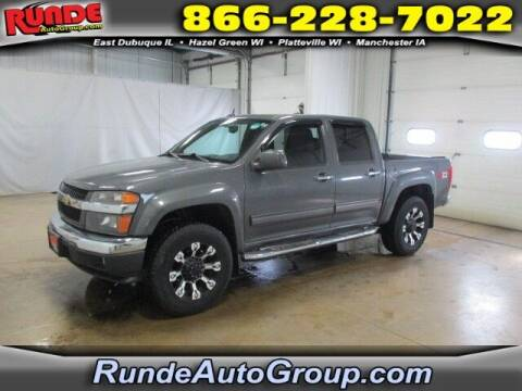 2012 Chevrolet Colorado for sale at Runde Chevrolet in East Dubuque IL