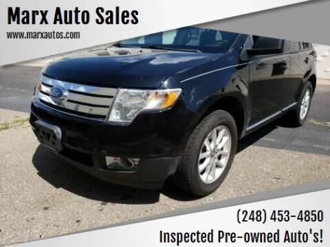 2009 Ford Edge for sale at Marx Auto Sales in Livonia MI