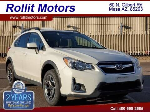 2016 Subaru Crosstrek for sale at Rollit Motors in Mesa AZ