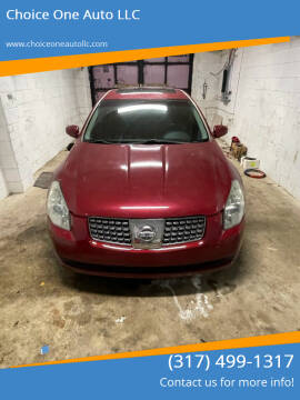 2007 Nissan Maxima for sale at Choice One Auto LLC in Beech Grove IN