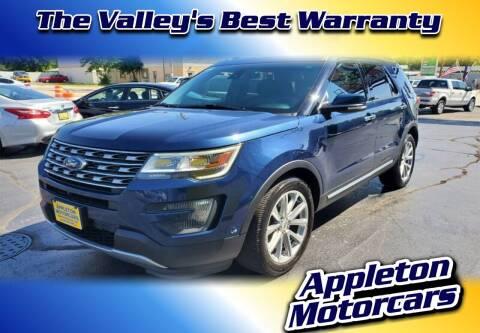 2016 Ford Explorer for sale at Appleton Motorcars Sales & Service in Appleton WI