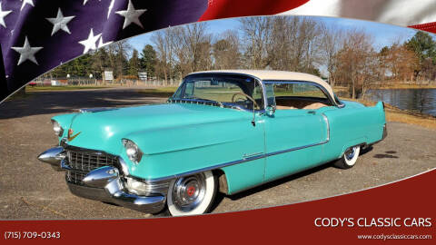 1955 Cadillac Series 62 for sale at Cody's Classic Cars in Stanley WI