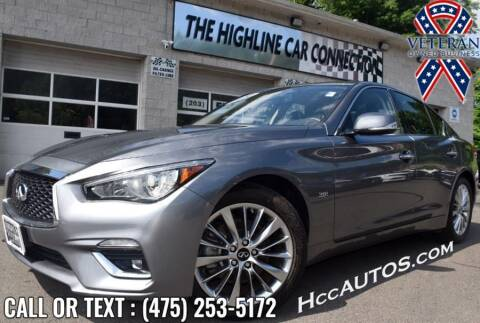 2020 Infiniti Q50 for sale at The Highline Car Connection in Waterbury CT
