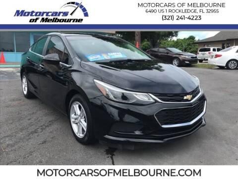 2016 Chevrolet Cruze for sale at Motorcars of Melbourne in Rockledge FL