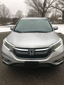 2016 Honda CR-V for sale at Dave's Garage Inc in Hampton Beach NH