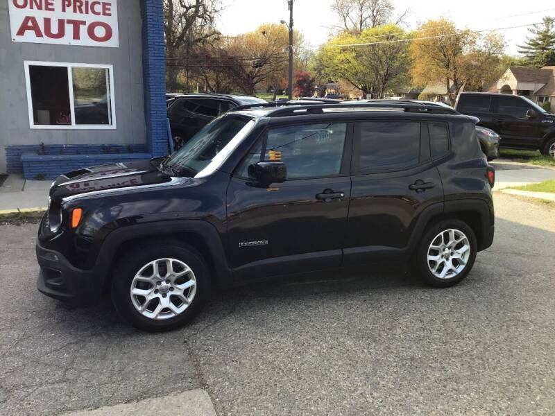 2015 Jeep Renegade for sale at One Price Auto in Mount Clemens MI