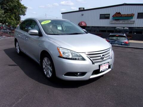 2015 Nissan Sentra for sale at Dorman's Auto Center inc. in Pawtucket RI