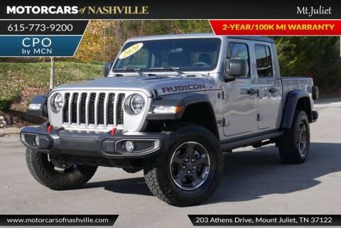 2020 Jeep Gladiator for sale at MotorCars of Nashville in Mount Juliet TN