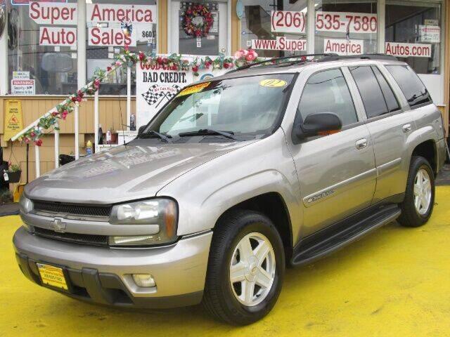2002 Chevrolet TrailBlazer for sale in Seattle, WA