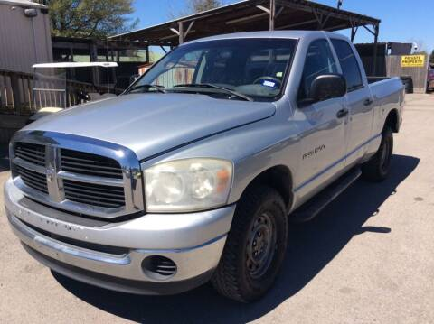 2007 Dodge Ram Pickup 1500 for sale at OASIS PARK & SELL in Spring TX