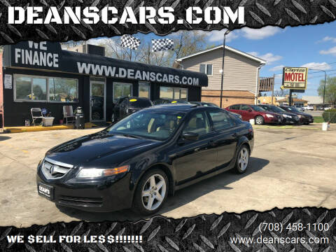 2004 Acura TL for sale at DEANSCARS.COM in Bridgeview IL