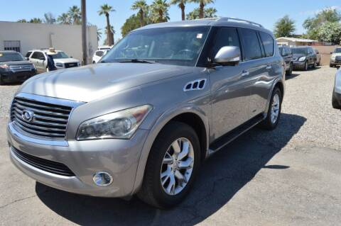 2012 Infiniti QX56 for sale at A AND A AUTO SALES in Gadsden AZ