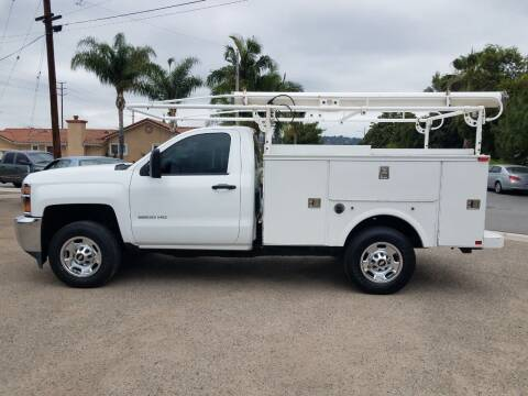 2015 Chevrolet Silverado 2500HD for sale at S & S Auto Sales in La  Habra CA
