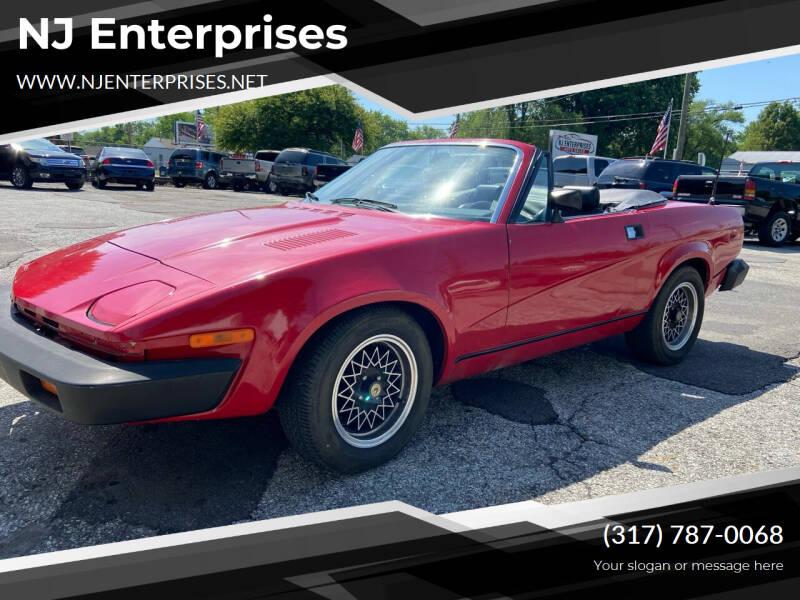 1979 Triumph TR7 for sale at NJ Enterprises in Indianapolis IN
