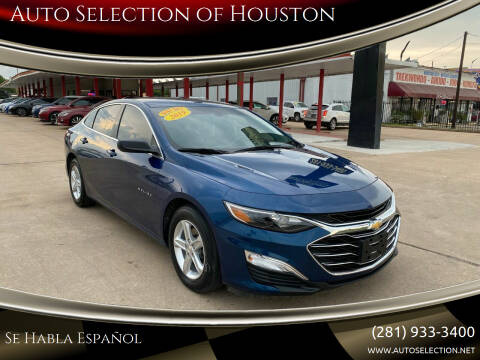 2019 Chevrolet Malibu for sale at Auto Selection of Houston in Houston TX