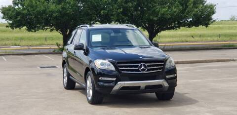 2012 Mercedes-Benz M-Class for sale at America's Auto Financial in Houston TX