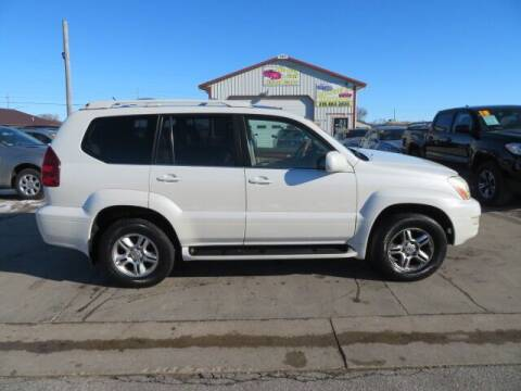2007 Lexus GX 470 for sale at Jefferson St Motors in Waterloo IA