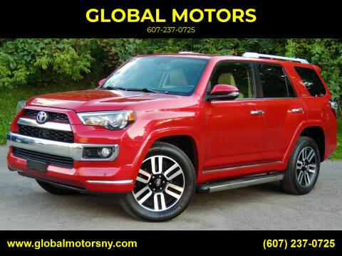 2014 Toyota 4Runner for sale at GLOBAL MOTORS in Binghamton NY