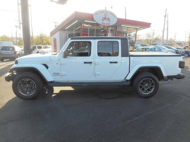 2020 Jeep Gladiator for sale at The Carriage Company in Lancaster OH