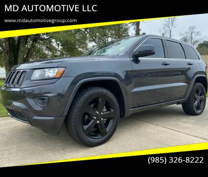 2014 Jeep Grand Cherokee for sale at MD AUTOMOTIVE LLC in Slidell LA