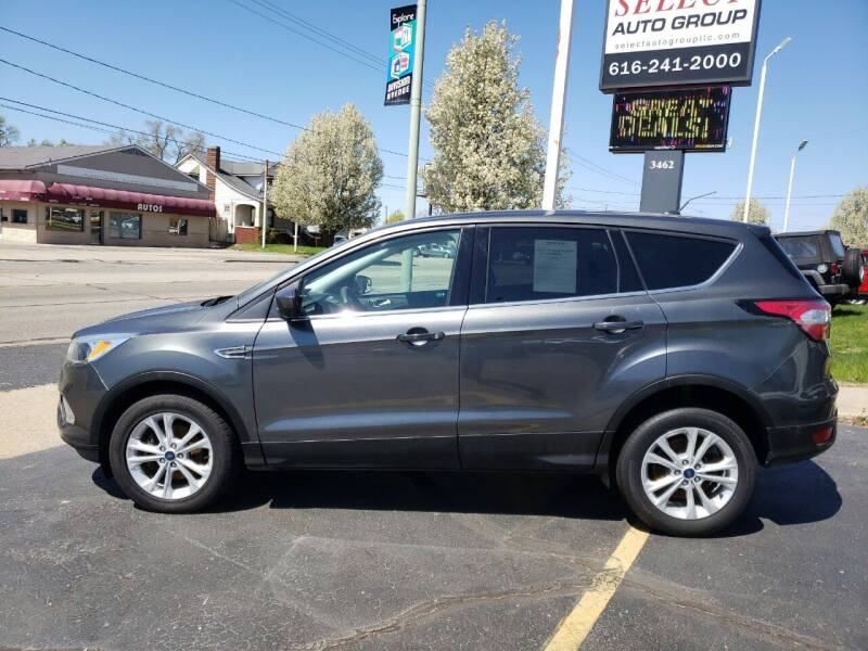 2017 Ford Escape for sale at Select Auto Group in Wyoming MI