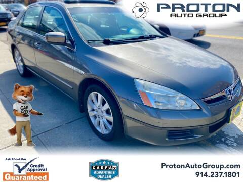 2006 Honda Accord for sale at Proton Auto Group in Yonkers NY