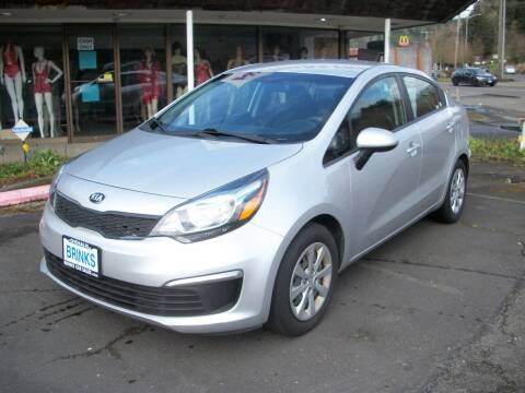 2016 Kia Rio for sale at Brinks Car Sales in Chehalis WA