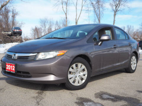 2012 Honda Civic for sale at AutoCredit SuperStore in Lowell MA