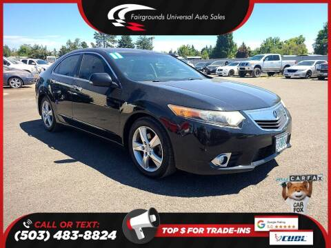 2011 Acura TSX for sale at Universal Auto Sales in Salem OR
