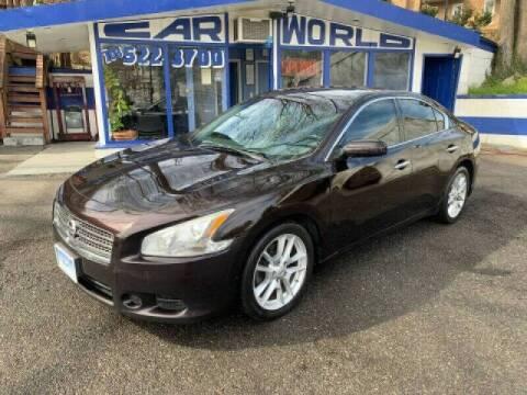 2011 Nissan Maxima for sale at Car World Inc in Arlington VA