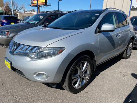 2009 Nissan Murano for sale at New Wave Auto Brokers & Sales in Denver CO