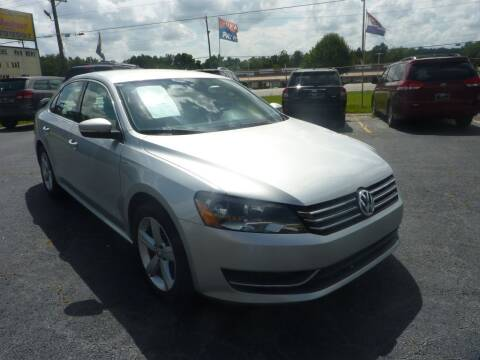 2014 Volkswagen Passat for sale at Roswell Auto Imports in Austell GA