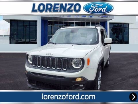 2018 Jeep Renegade for sale at Lorenzo Ford in Homestead FL