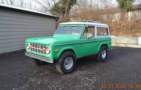 1972 Ford Bronco for sale at Classic Car Deals in Cadillac MI